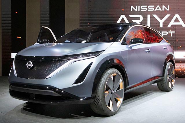 昨年の東京モーターショーに展示されて話題を呼んだ日産アリア。SUVタイプの電気自動車。プロパイロット2.0も搭載されるという