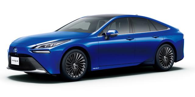 昨年末、2代目にフルモデルチェンジした燃料電池車(FCV)のミライ。トヨタはHV、EV、FCVをそろえ、全方位で電動化の波に対応できる