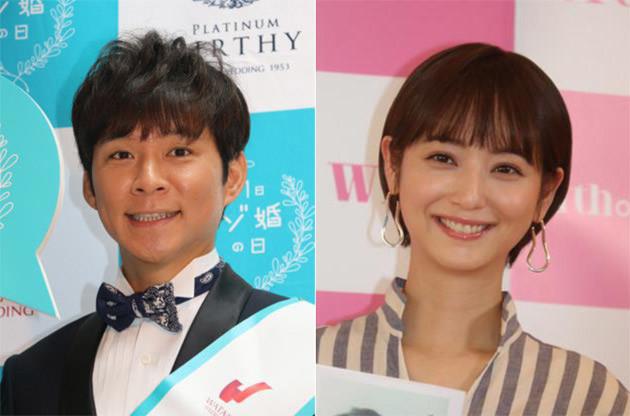 アンジャッシュの渡部 建と佐々木 希は2017年に結婚。渡部が『行列のできる法律相談所』(日本テレビ系)で結婚発表をした