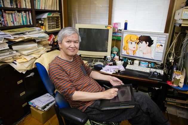 昨年、画業50周年を迎えた弓月 光先生