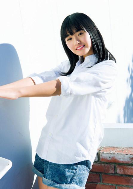坂道グループ歴代最年少の13歳で加入した、欅坂46の山﨑 天ちゃん
