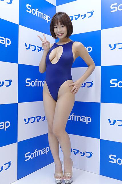 14作目DVD『ふわふわベイビー』(双葉社)発売イベント@ソフマップAKIBA④アミューズメント館(2019年3月16日)