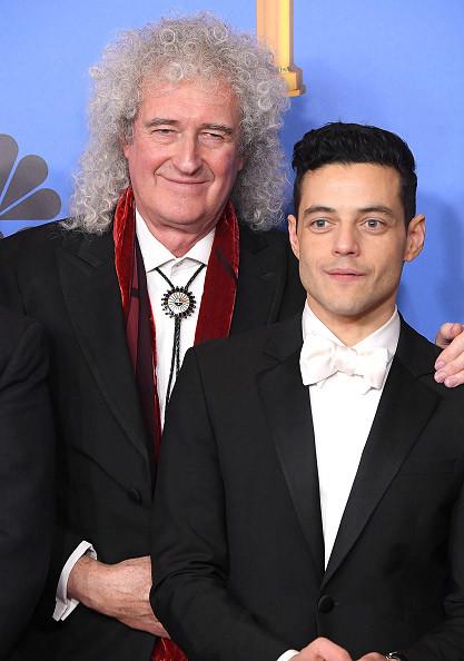 今年1月、ゴールデングローブ賞の作品賞(ドラマ部門)と主演男優賞(ドラマ部門)の2冠に輝いた『ボヘミアン・ラプソディ』。フレディ役、ラミ・マレック(右)とブライアン・メイ