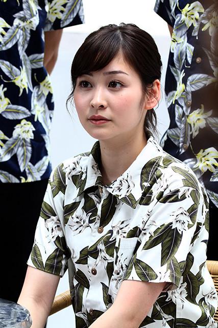 写真は日本テレビの岩田絵里奈アナ。慶應義塾大学文学部を卒業し、昨年4月に日本テレビに入社。マジックは玄人はだしで、カードマジックが得意だという。現在は『世界まる見え!テレビ特捜部』などを担当