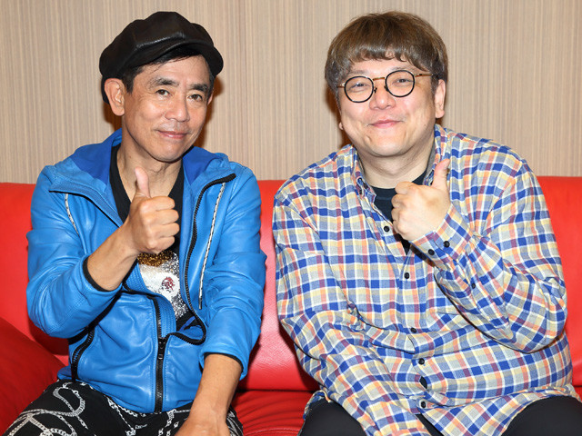 栗田貫一さん(左)が声優をつとめる「ルパン三世」について、角田陽一郎氏が聞く!