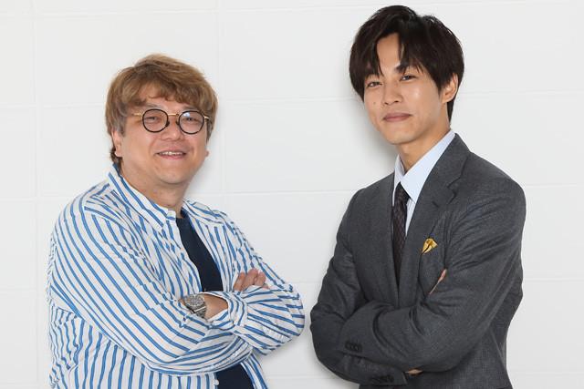 バラエティプロデューサー・角田陽一郎氏(左)が俳優・松坂桃李氏の映画体験をひもとく!