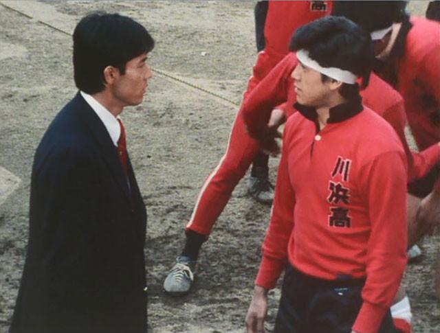 校内暴力で荒れる川浜高校ラグビー部の弱小チームをわずか数年で全国大会優勝に導いていく