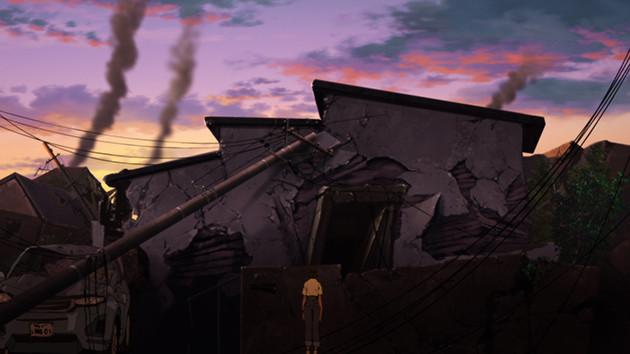 震災のリアリティにこだわった作画は、本作の注目ポイントのひとつ