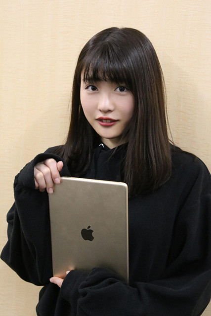 自身の写真集やグラビアへの想いを語る石田桃香