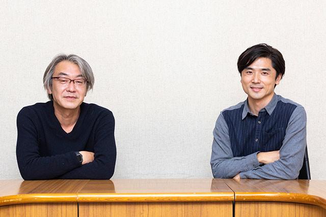 『セイバー』の高橋一浩氏(左)と『ゼロワン』の大森敬仁氏