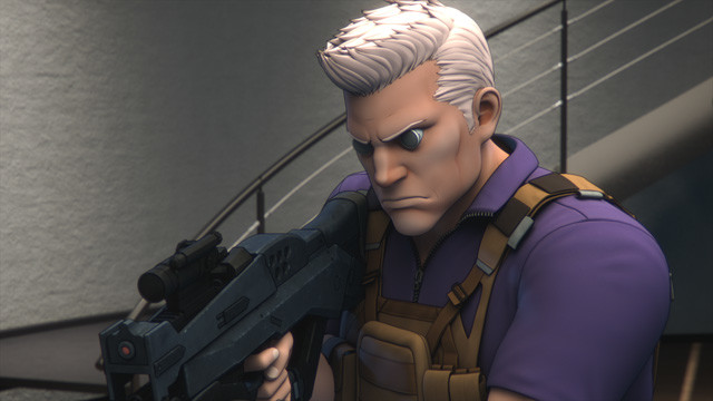 草薙素子の長年の相棒として今作でも活躍する元レンジャー部隊のバトー
