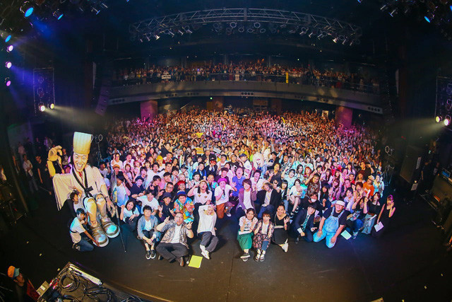 昨年の「YATSUI FESTIVAL!」でのひとコマ