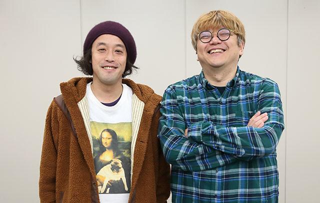 エレキコミック・やついいちろう氏(左)の映画体験を角田陽一郎氏がひもとく!