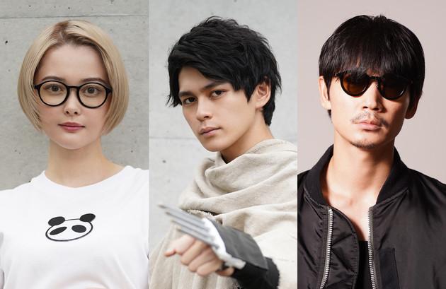 左から玉城ティナ、主演の眞栄田郷敦、綾野剛