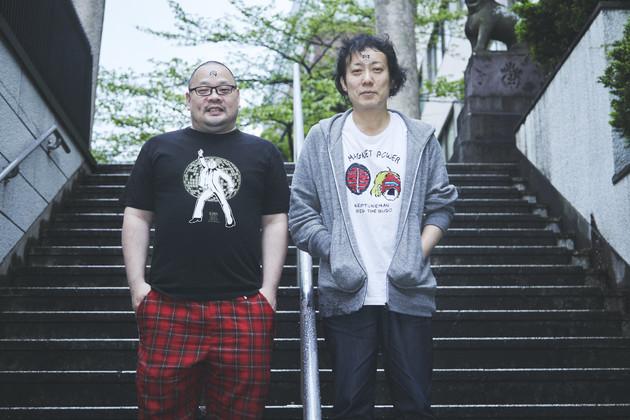 人気小説家の燃え殻さん(右)と爪切男さんで熱いキン肉マントーク!