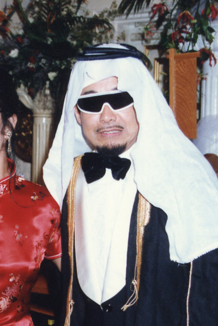 松岡ゆみこ氏の結婚式に出席した時の立川談志師匠