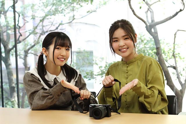 『声優トモ写!』に、養成所時代から仲良しだという菅野真衣さん(左)と陶山恵実里さんが登場!
