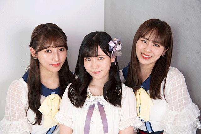 (写真左から)栗原紗英、運上弘菜、坂口理子