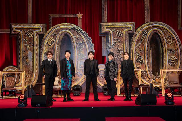 (左から)興津和幸、杉田智和、小野大輔、小野友樹、小野賢章