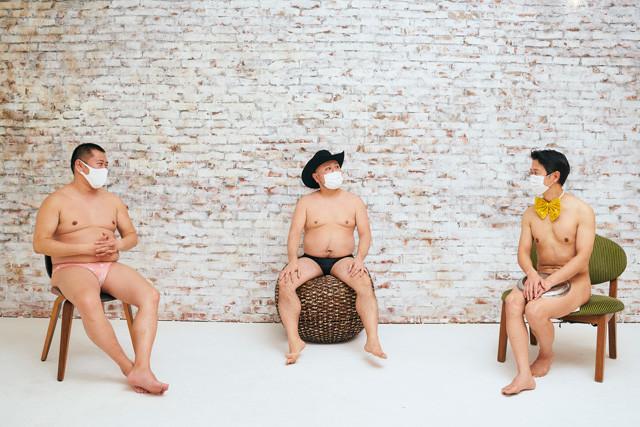 ほぼ同時期に売れた「裸御三家」(左から)とにかく明るい安村、ハリウッドザコシショウ、アキラ100%が赤裸々トーク!