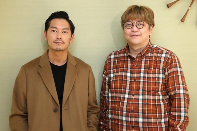 ラッパー・般若氏(左)の映画体験を角田陽一郎がひもとく!