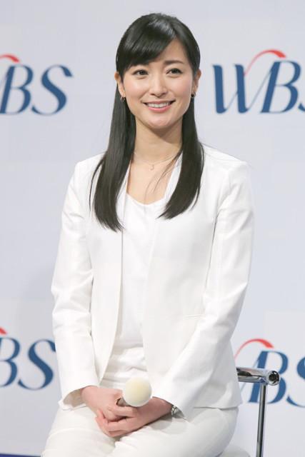 大江アナはこの4月でWBSメインキャスター8年目に。テレ東の「夜の顔」として一世一代の大勝負だ