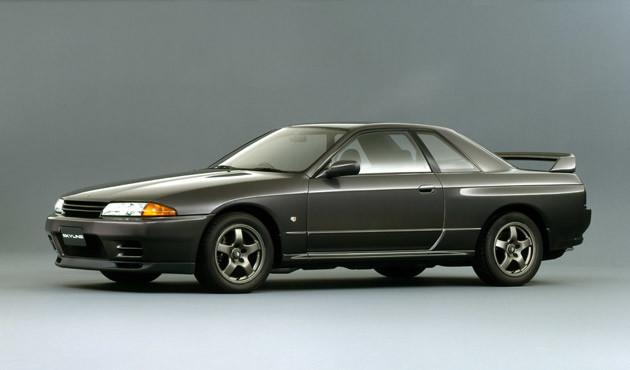 日産 スカイラインGT−R。8代目スカイラインは16年ぶりに栄光の「GT−R」が復活して話題になった