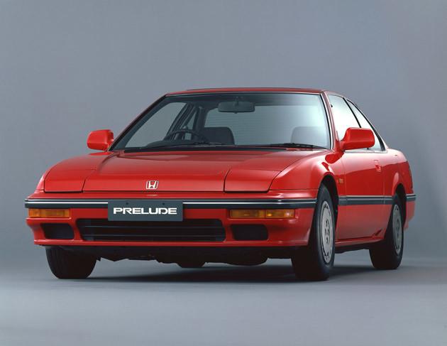 ホンダ プレリュード。3代目は1987年登場。美しいスタイルがデートカーとしてウケた