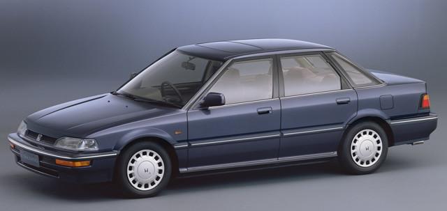 【10位】ホンダ「コンチェルト」 英オースチン・ローバー・グループと共同開発し、1988年に登場