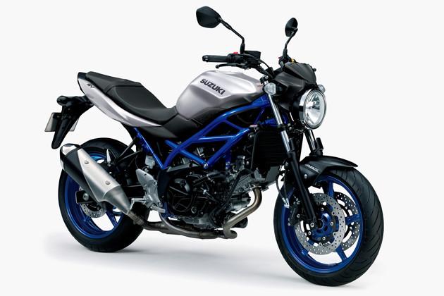 スズキ SV650 ABS 価格:75万2400円 3月13日に2020年モデルが登場。コンセプトはスリム&シンプル。197kgと軽量。ABSは前後とも標準装備される