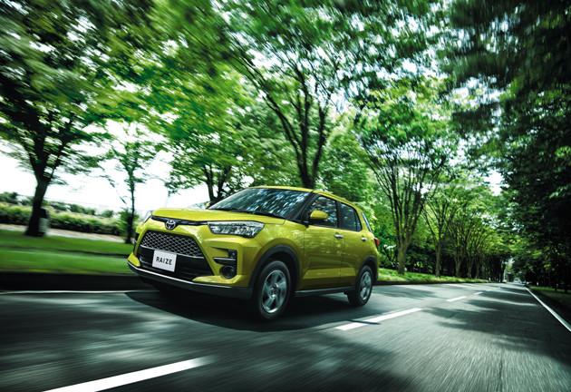 ライズ 価格:167万9000〜228万2200円 5ナンバーサイズのSUVで販売絶好調。ちなみにダイハツからのOEMで姉妹車はロッキー