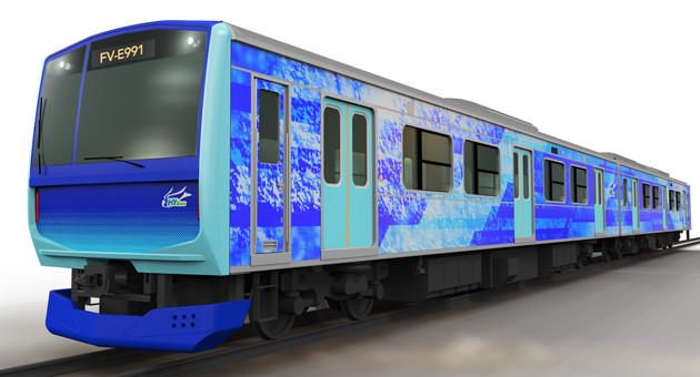 JR東日本、日立、トヨタの技術を融合して水素で動く燃料電池電車の開発を進める。ちなみに鉄道車両の名前は「ひばり」