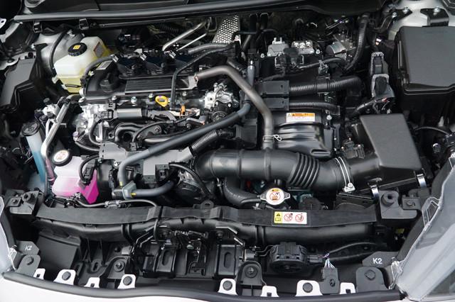 エンジンはすべて直列3気筒。1L、1.5L、1.5Lハイブリッドの3種類