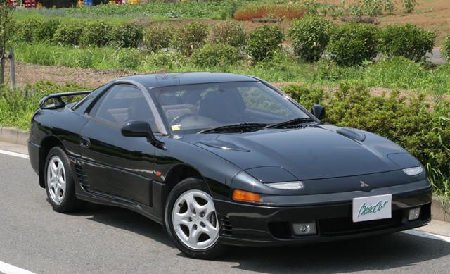 8位 三菱「GTO」 1990年に三菱のフラッグシップクーペとして誕生。2001年に販売終了。搭載エンジンは当時最強となる280PSのツインターボ