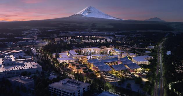 静岡県裾野市に来年2月23日に着工予定の実験都市「ウーブン・シティ」。街のエネルギーは水素などをフル活用するという