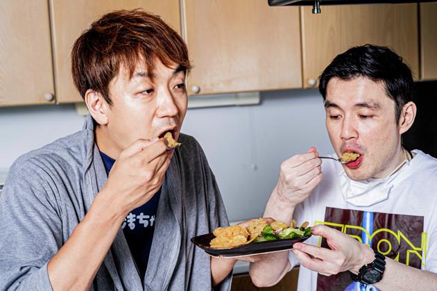 (5)激ウマ! ホクホクの食感はポテサラそのもの。なのに口の中ではスナック感が炸裂。こんなにジャンクなポテサラなんていまだかつて食べたことがない! お酒もご飯も進む味!