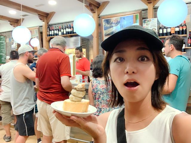 ワインとタパスも有名なログローニョのバルで唯一食べたのはシャンピニオン(マッシュルーム)!
