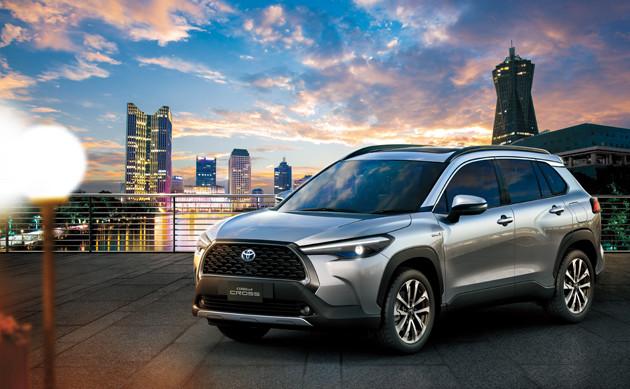 7月9日にタイで初公開されたトヨタの新型SUVカローラクロス。日本導入の公式アナウンスはまだないが......