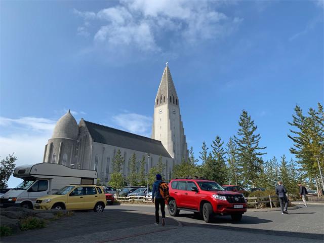 街のシンボル「ハットルグリムス教会」