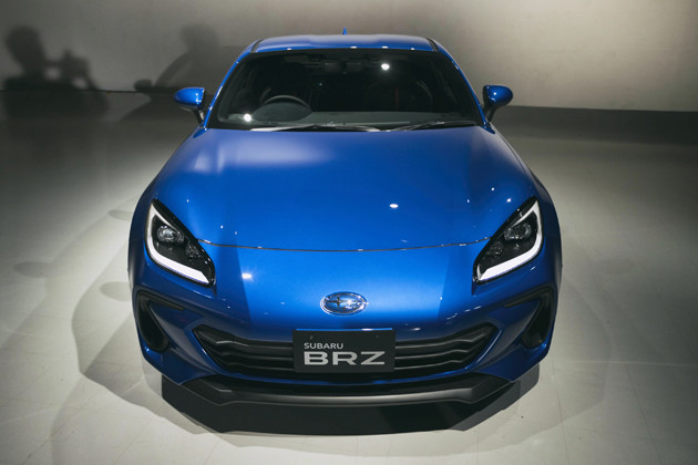 スバル BRZ 発売:2021年夏 初代同様、トヨタとスバルが共同で開発したFRスポーツカー。スバル版のBRZは「究極のFRピュアスポーツカー」を目指している