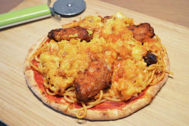 (5)完成!「サイゼリヤの全部のせモンスターピザ」
