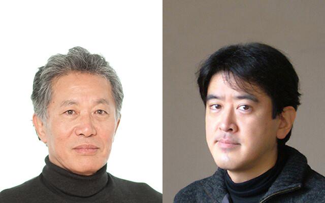 対談を行った山崎雅弘氏(右)と内田樹氏(左)