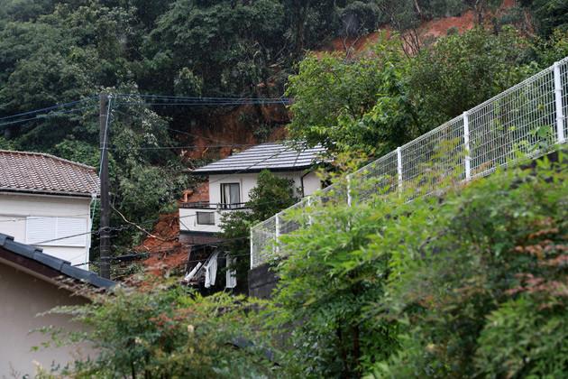 福岡県北九州市門司区奥田地区では「平成30年7月豪雨」で大規模な土砂災害が起き、2名が亡くなった