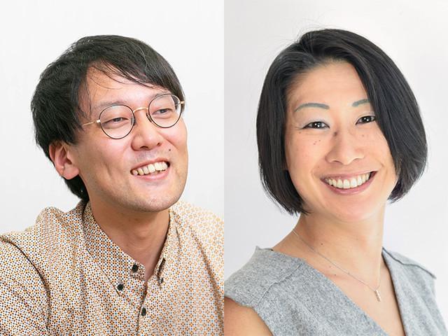 斎藤幸平氏(写真左)と岸本聡子氏