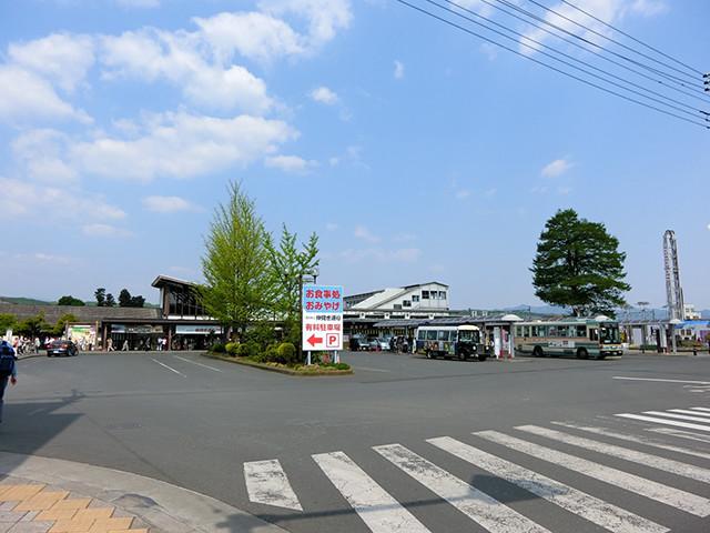 西武線・西武秩父駅前。池袋から乗換なしで90分弱と、交通の便は良好だ
