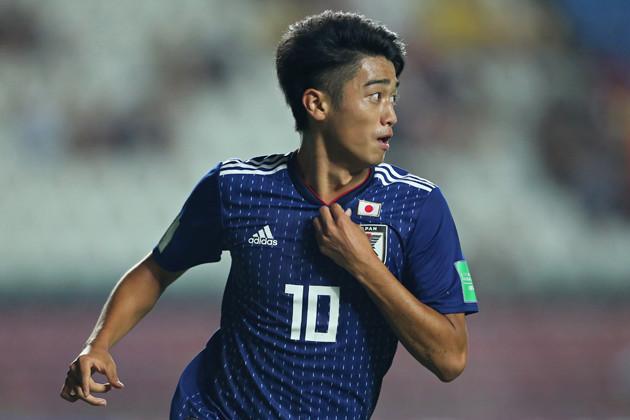 昨年のU-17W杯で「10番」を背負い活躍したC大阪の西川 潤。同年4月には、クラブ史上2番目の若さでJリーグデビューも果たした万能型FWだ