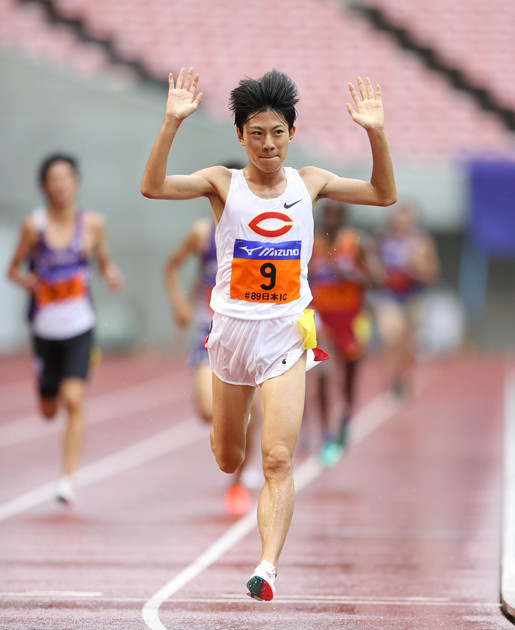 5000mで日本学生歴代7位の記録を出した、中央大のルーキー・吉居。苦しい状況から抜け出しつつあるチームを牽引していく選手になりそうだ