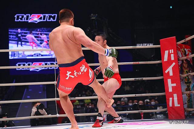 2020.12.31 Yogibo presents RIZIN.26 vsミノワマン 〇1R3分19秒TKO(レフェリーストップ:グラウンドパンチ)