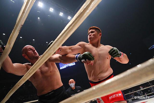 2020.9.27 Yogibo presents RIZIN.24 vsテ?ィラン・シ?ェイムス 〇1R(終了時)TKO(ドクターストップ)