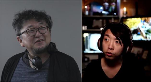 「現代の魔法使い」落合陽一(右)と「映画監督」樋口真嗣(左) ?2021「シン・ウルトラマン」製作委員会 ?円谷プロ